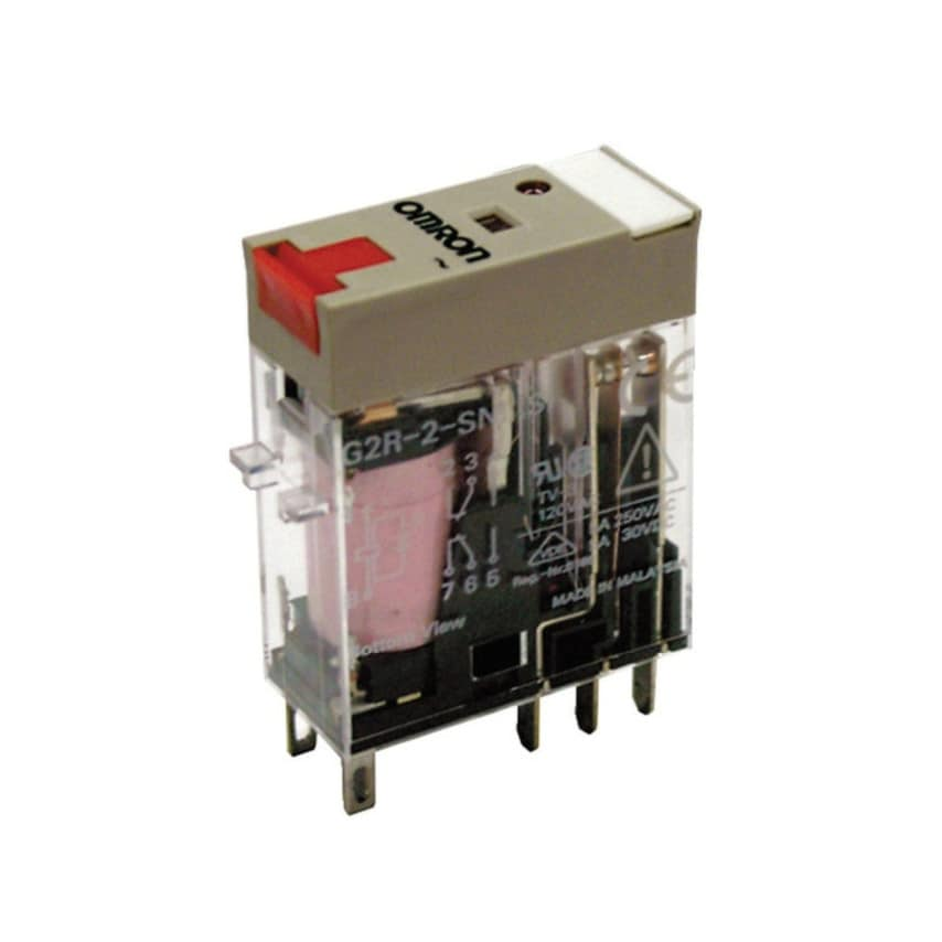 Omron Slim Relay G2R-2-Sni 12Dc(S) UK Specification