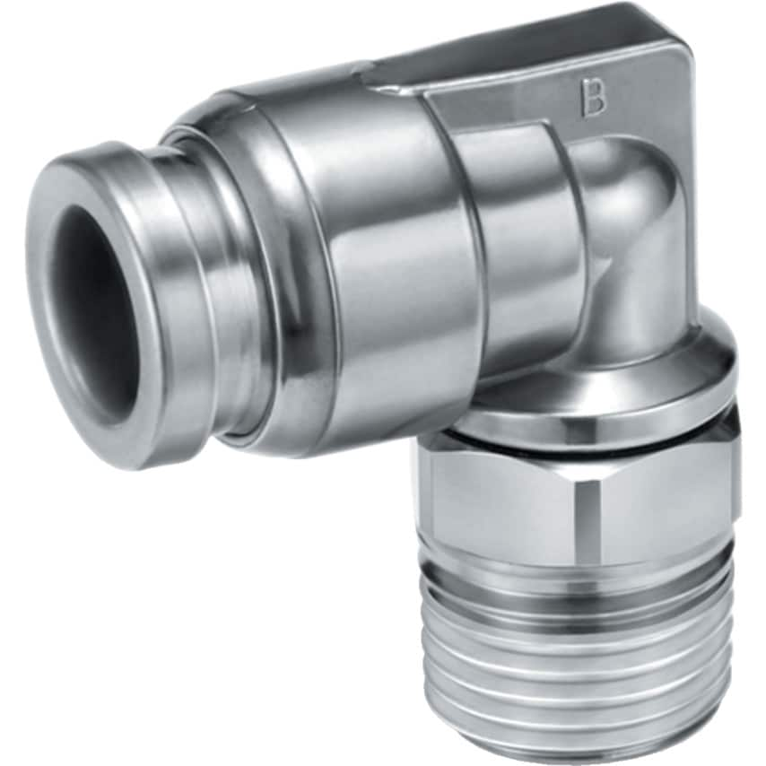 Smc Kqg2L08-02S Stainless Elbow Fitting 8Mm R1/4 UK Specification