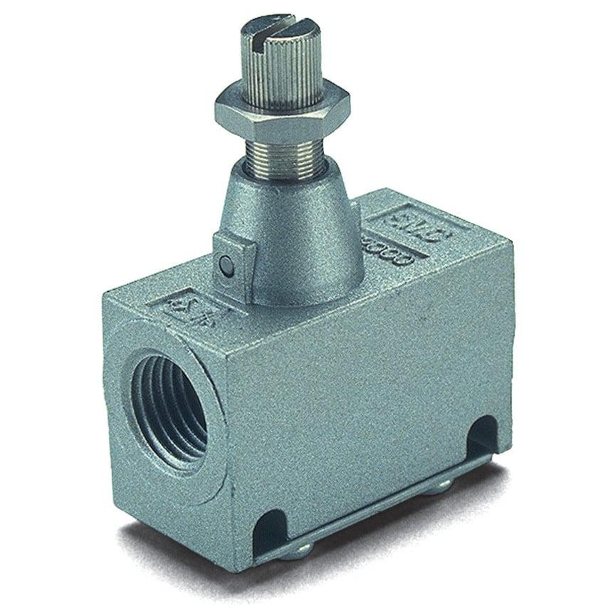 Smc Eas2000-F01 Pneumatic In-Line Flow Regulator 1/8 U.K. ID ZT1064917X