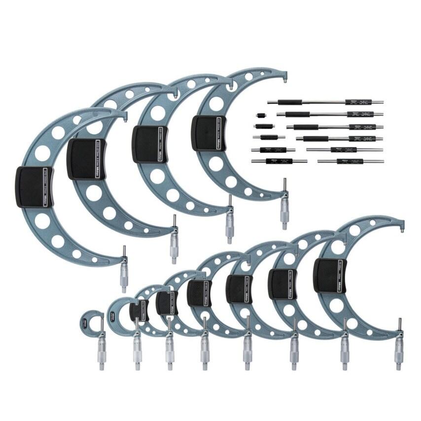 Mitutoyo 103-914-50 Micrometer & Standards Set U.K. ID ZT1016647X