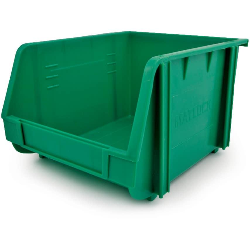 Matlock Mtl3 Plastic Storage Bin Green U.K. ID ZT1020905X