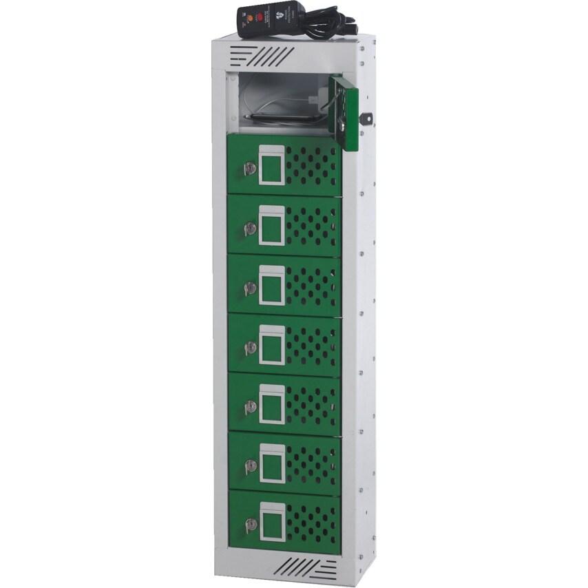 Matlock Charging Lockers 8 Door 9 15X250X155 Sl/Top-L/Grey U.K. ID ZT1022936X