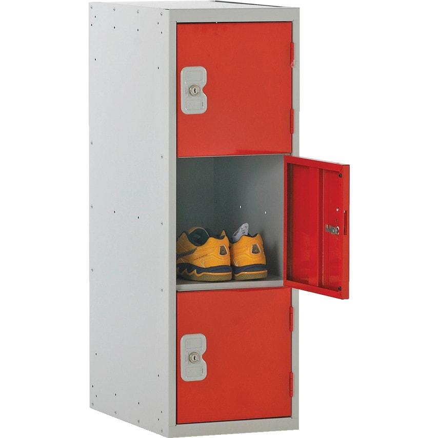 Matlock Half Ht Three Dr Locker Nest 1 896X300X450-D/ Grey U.K. ID ZT1022261X