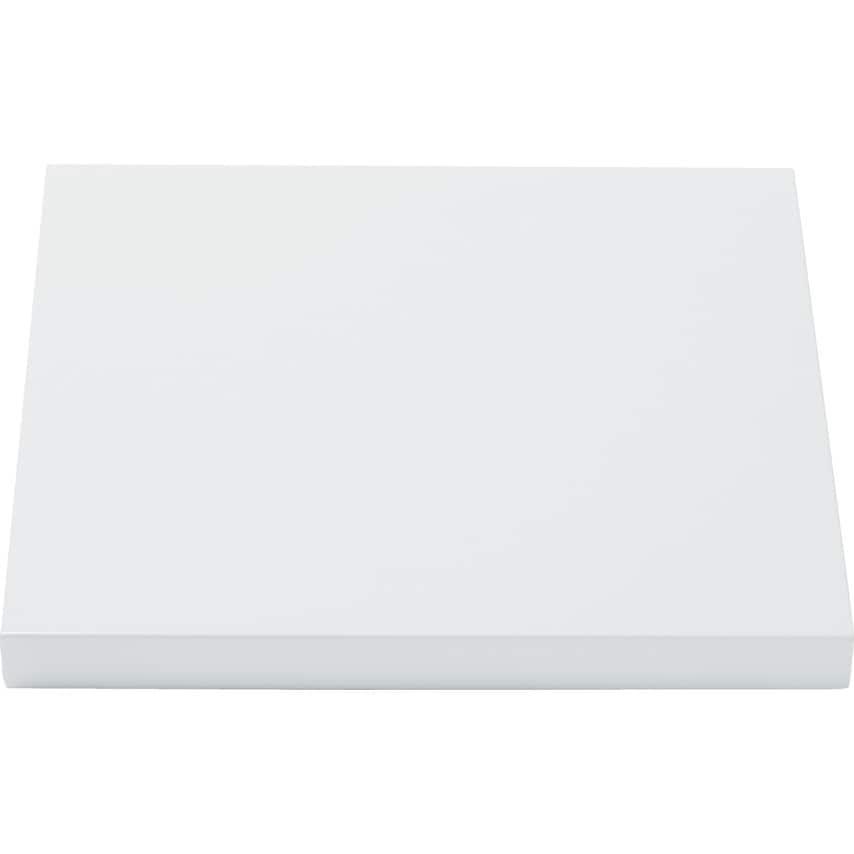 Matlock Extra Shelf 459X459 White UK Specification