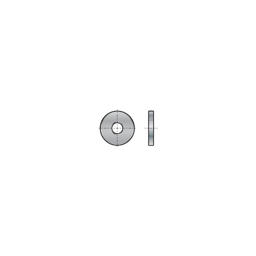 Qualfast M4 (3Xd) Washer Nylon (6.6) Black Din 9021 Pack Of 200 U.K. ID ZT1113255X