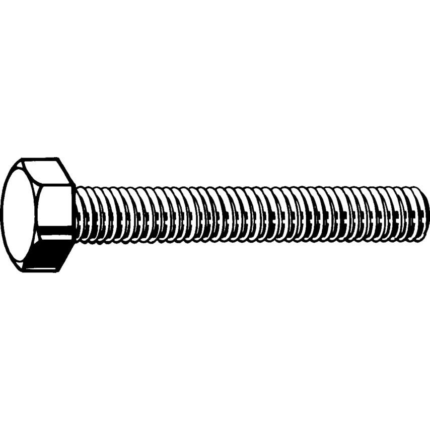 Qualfast M12X25 Hex Head Set Screw Zn Flake (Gr-8.8) Pack Of 100 UK Specification