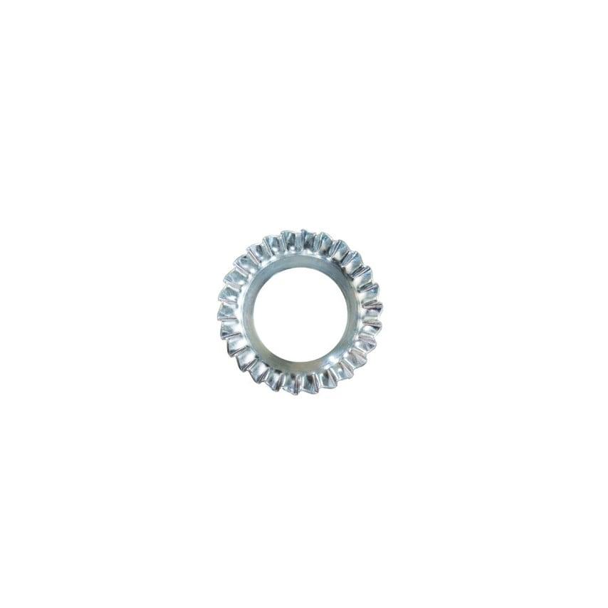 Qualfast M10 C/Sunk External Serrated Lock Washer Bzp Din 6798V Pack Of 1000 UK Specification