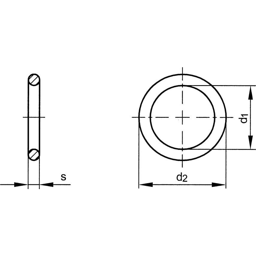 Qualfast 16X22X2.0Mm Copper/Festaplan Sealing Ring Filled Din 7603C Pack Of 100 UK Specification