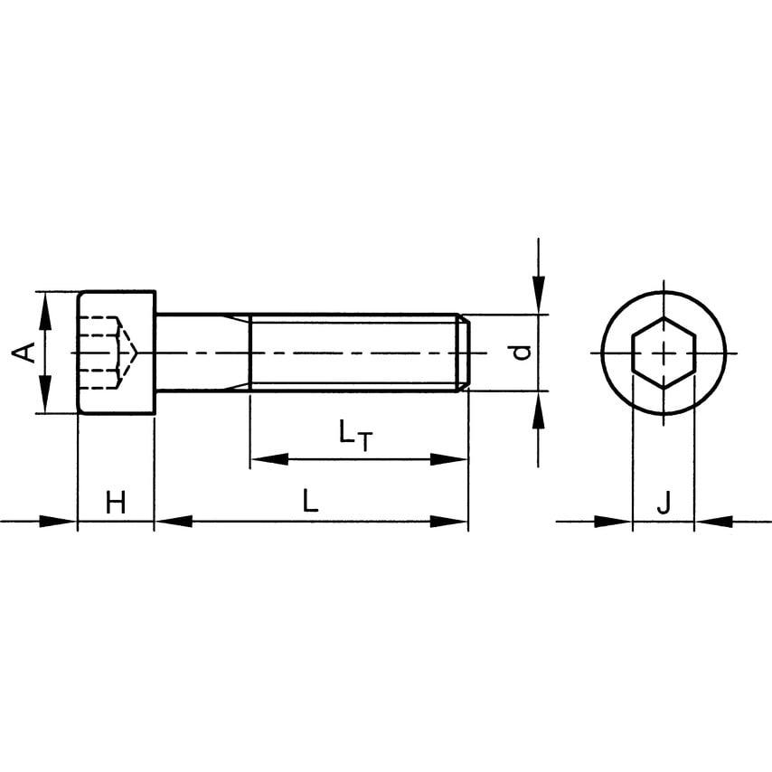 0BAX1. Skt Head Cap Screw (GR-12.9) | Pack of 200