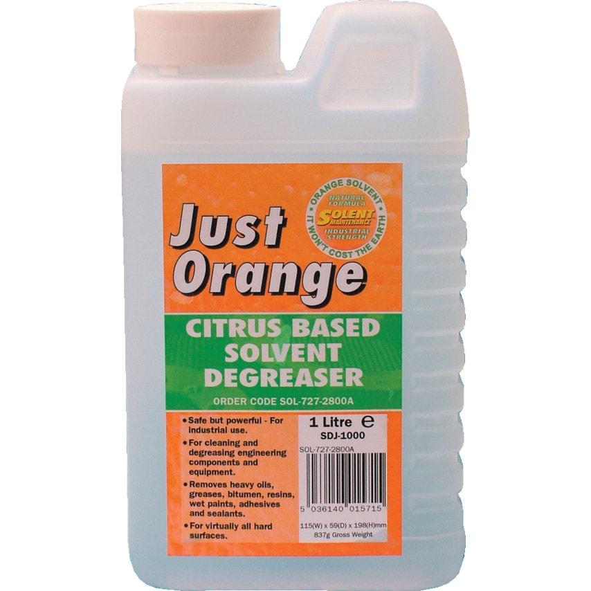 Solent Maintenance Just Orange Citrus Based Degreaser 1LTR