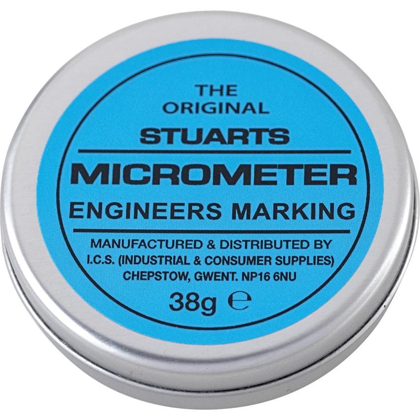 Stuarts Micrometer Blue 38Gm Tin