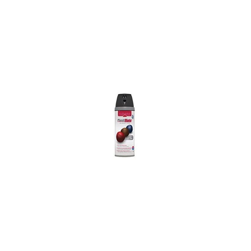 Plastikote 25001 Twist & Spray Primer Black 400Ml U.K. ID ZT1036445X