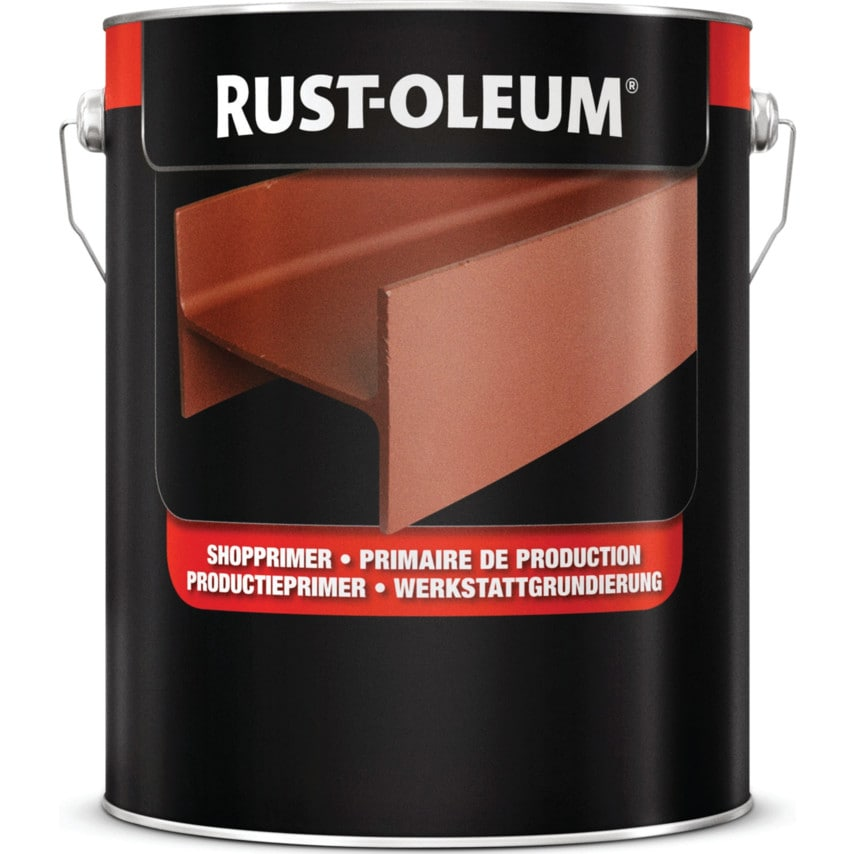 Rust-oleum 6487 Grey Shop Primer Corrosion Protection Quick Dry Undercoat 5LTR