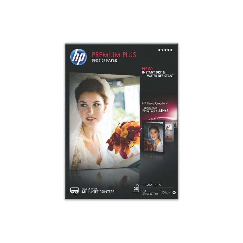 Hewlett Packard Cr673A Photo Paper 300Gsmsemi-Gloss A4 (Pk-20) (ZT1048903X HPCR673A) photo