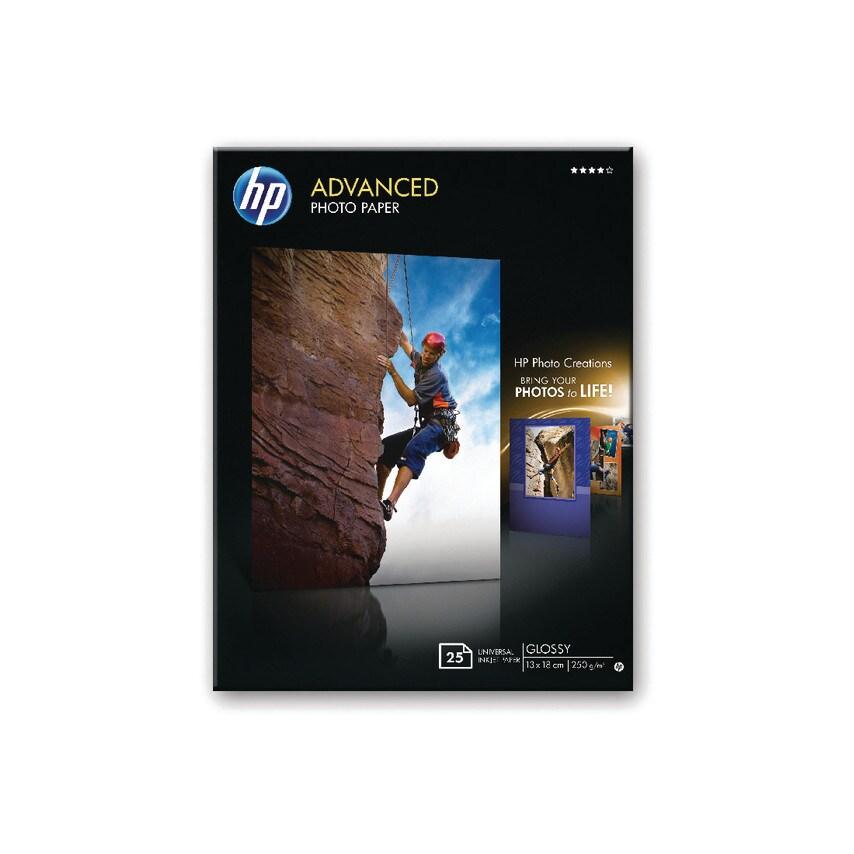 Hewlett Packard Q8696A Glossy Photo Paper Borderless 13X18Cm (Pk-25) (ZT1048891X HPQ8696A) photo