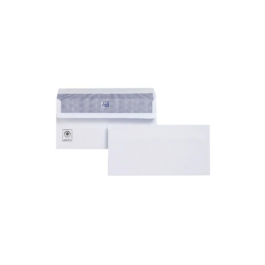 Plus Fabric M23270 Pf Envelope Dl Wallet S/Adh Wht (Pk-250) U.K. ID ZT1048707X
