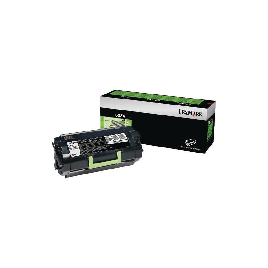 Lexmark 52D2X00 Toner Cartridge Ret/Progextra/Hy Blk UK Specification