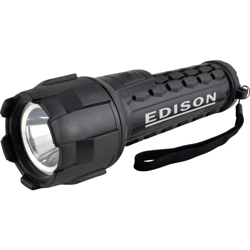 Edison 3W Cree Rubber Led Waterproof Torch U.K. ID ZT1026366X