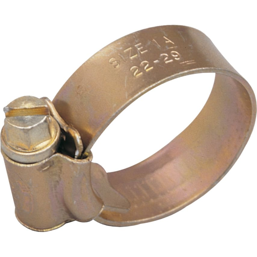 Matlock 6 Zinc Plated Hose Clips UK Specification