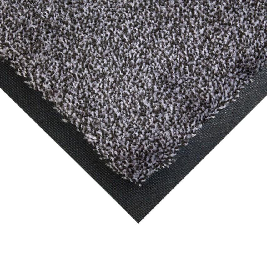 0.85Mx1.2M Cobawash Matting Black/Steel U.K. ID ZT1183475X