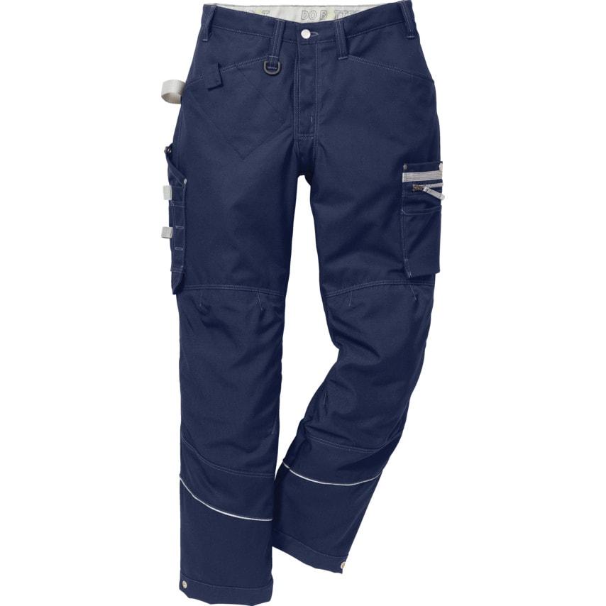 Fristads Kansas 2123 Gen Y Men'S Navy 42R Trousers UK Specification