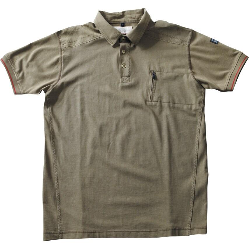 Mascot Kreta Frontline Men'S Short Sleeve Large Olive Polo Shirt U.K. ID ZT1168446X