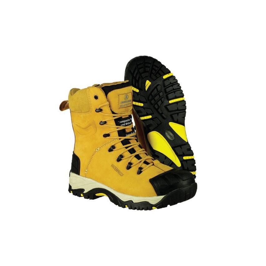 7cb2e4a9163d0c Amblers Safety Fs998 Tan Safety Boots - Size 10 (ZT1248571X 21517-34559-10