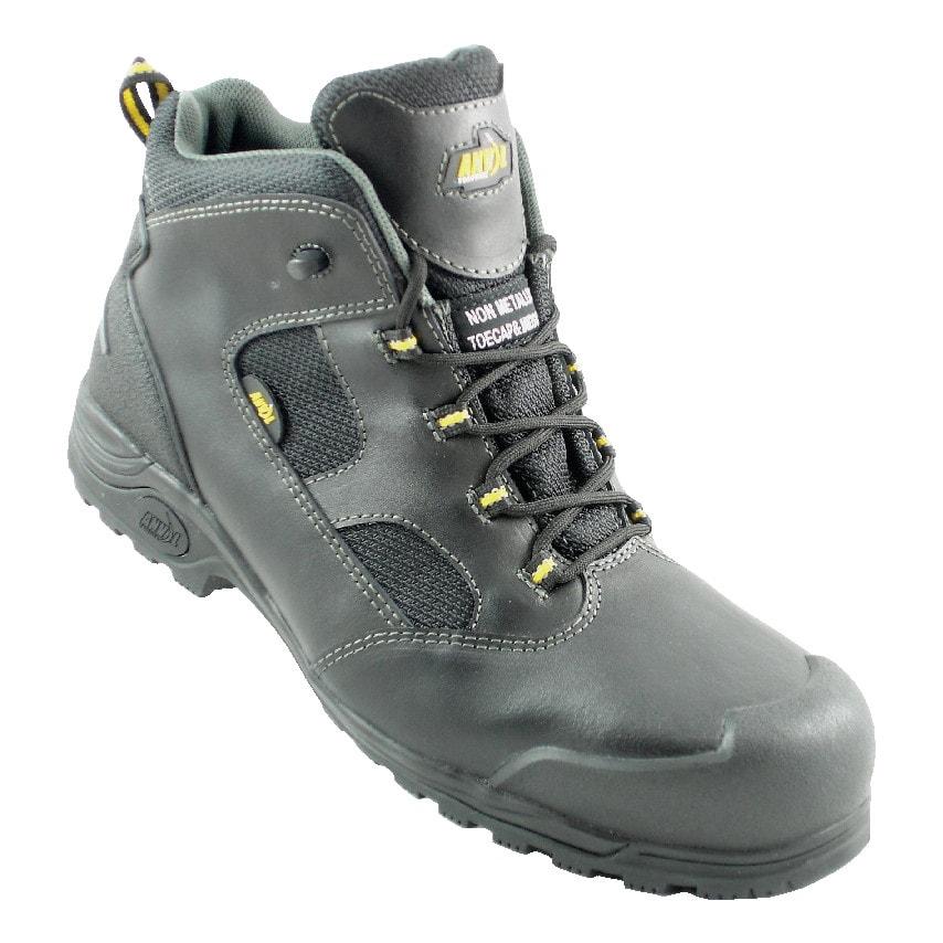Anvil Traction Rockford Men'S Black Safety Boots Size 11 U.K. ID ZT1180768X