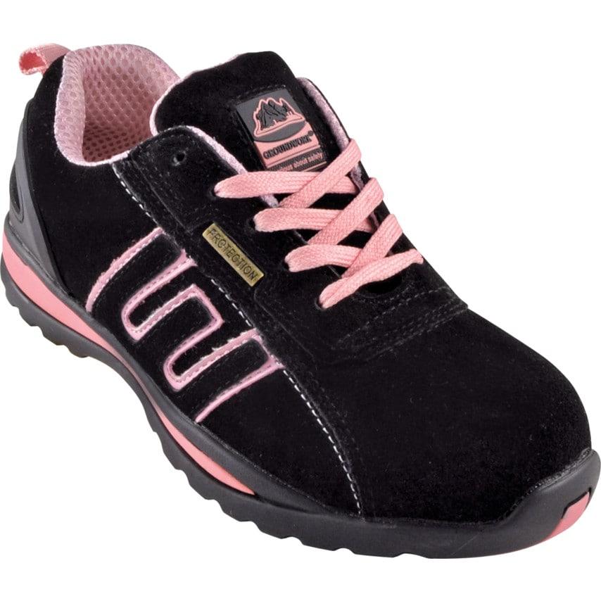 Gr86 Ladies Pink Safety Trainers Size 7 U.K. ID ZT1179334X