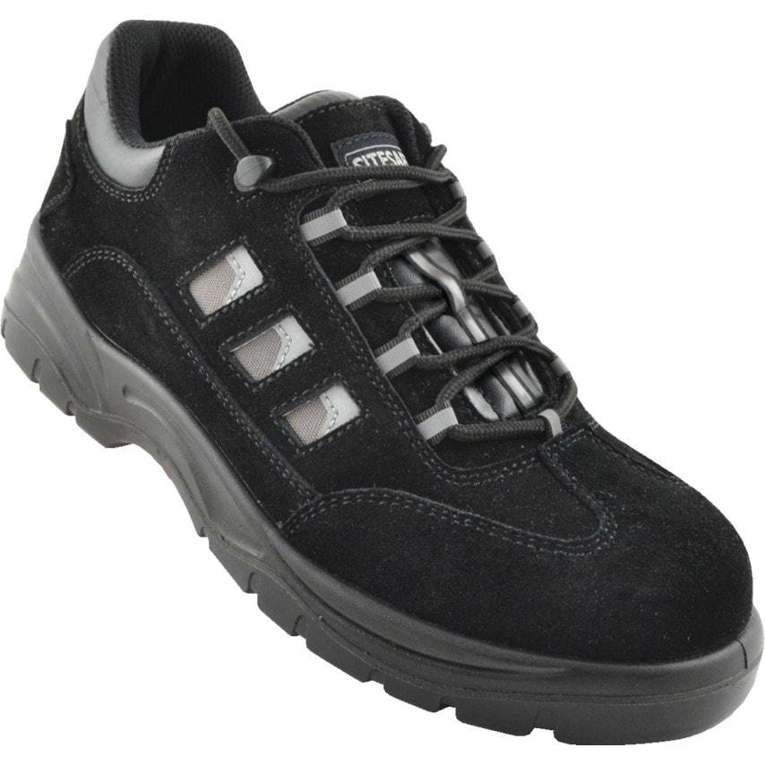 Sitesafe Tns107 Black Safety Trainers Size 7 U.K. ID ZT1179307X