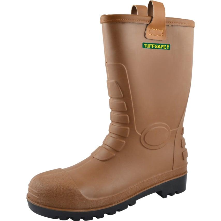 Tuffsafe Rigger Boot S5 Lined W/Resist S5 Rat08 Size Uk10 U.K. ID ZT1178724X