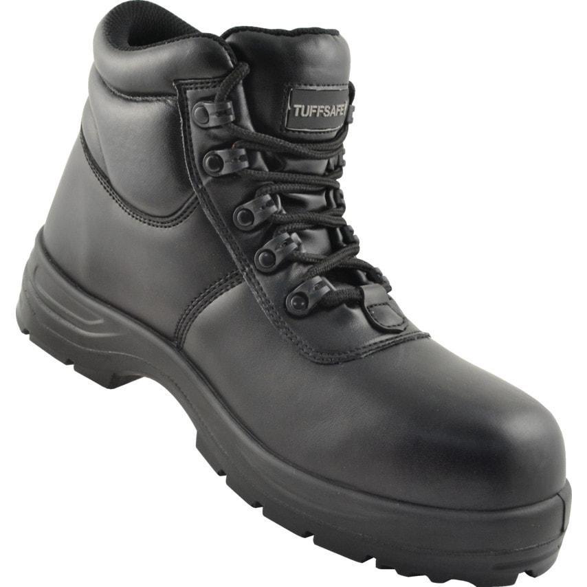 Tuffsafe Black Chukka Safety Boots Size 11 U.K. ID ZT1180998X