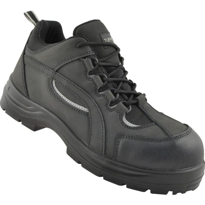 Tuffsafe Tmf310 Black Safety Trainers Size 10 U.K. ID ZT1179319X