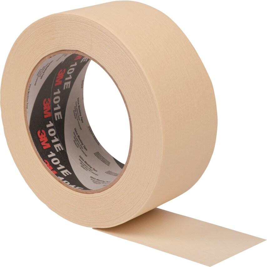 3M 101E Value General Purpose Masking Tapes - 48Mm X 50M